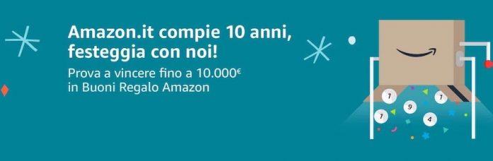 Amazon concorso 2020