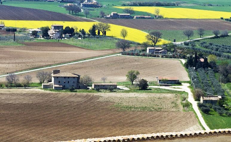 lasciare la città Campagna Umbria