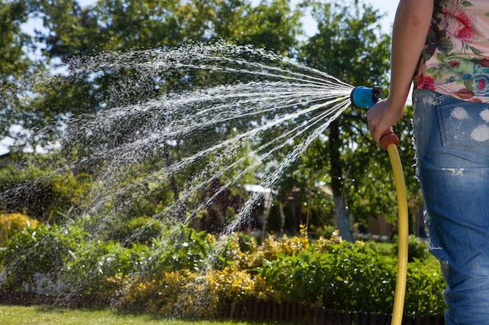 risparmiare acqua orto